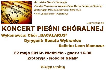 Koncert Chóru Bacalurs