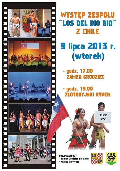 Występ zespołu Los Del Bio Bio z Chile