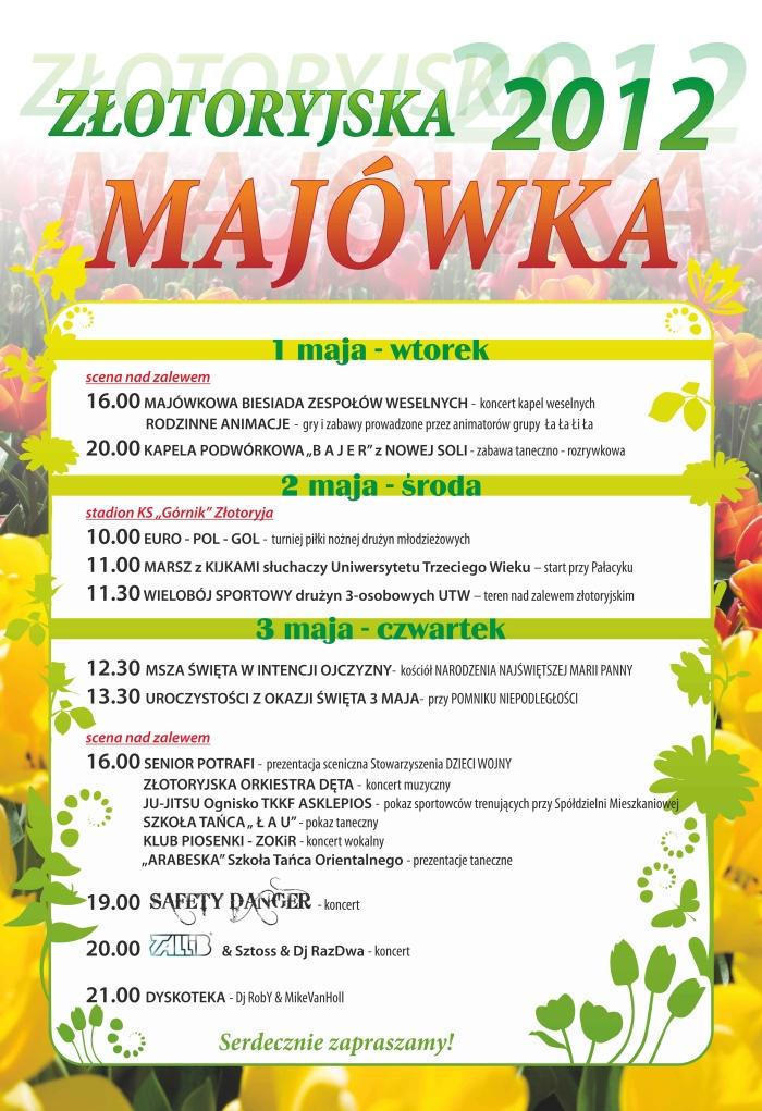 Majówka Złotoryja długi weekend maj