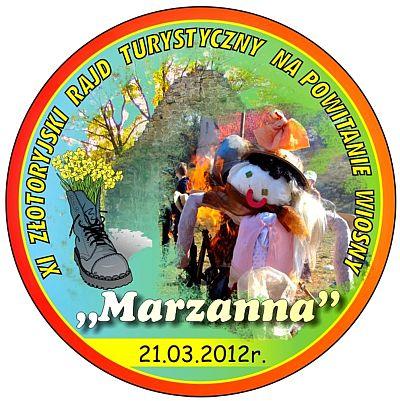 Logo Marzanna 2012
