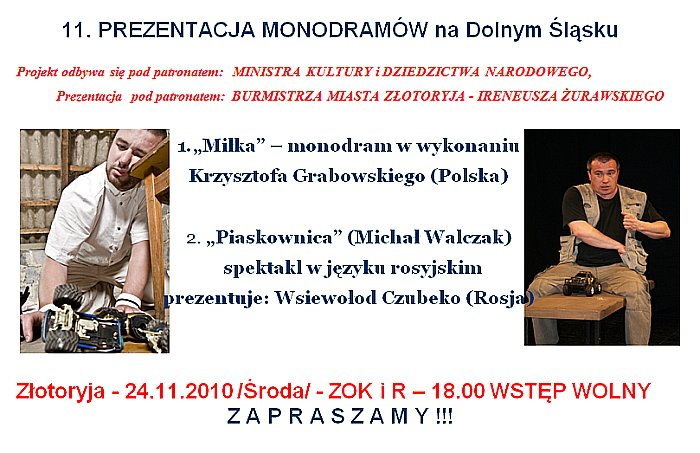 Monodramy 2010