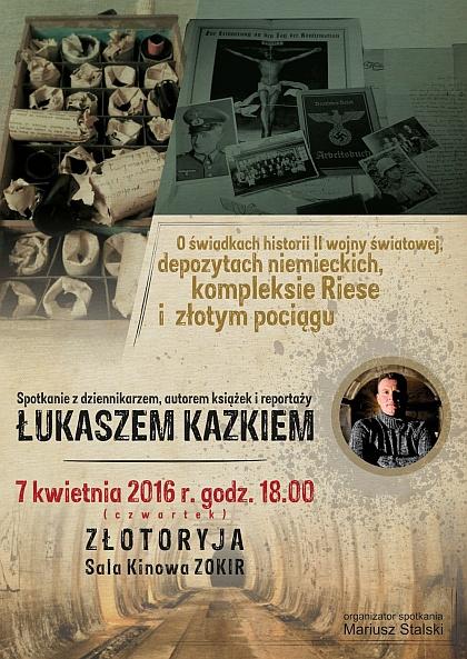 Spotkanie z Łukaszem Kazikiem