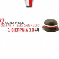 72. rocznica wybuchu Powstania Warszawskiego. Pamiętamy!