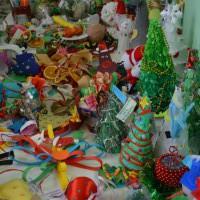Święty Mikołaj rozdawał nagrody
