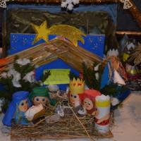 """Wręczenie nagród w konkursie na """"Najpiękniejszą Szopkę Bożonarodzeniową"""""""