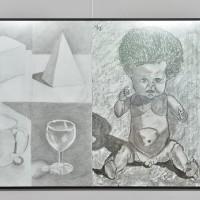 Wernisaż  uczestników pracowni rysunku i malarastwa